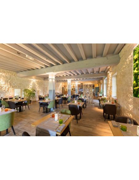 Le restaurant Château où sera servi votre dîner gourmet