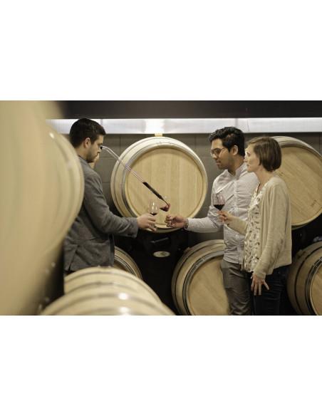 Votre guide vous fera déguster ses meilleurs vins