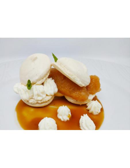 Un dessert de la carte menu