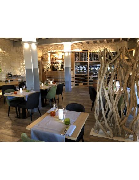 Le restaurant gourmet du château où vous serez hébergés