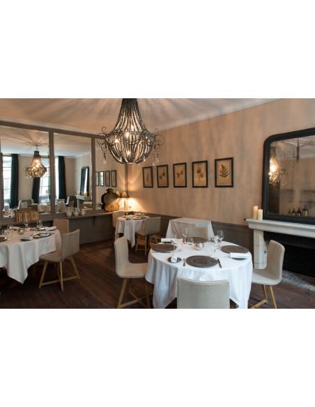 Très bonne table gastronomique étoilée Michelin au menu !