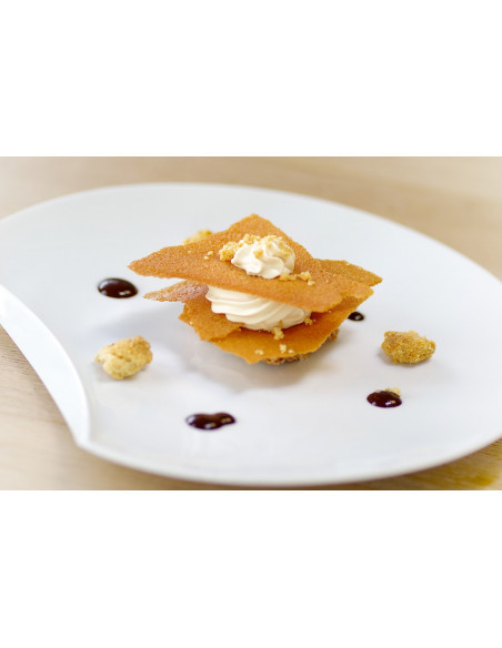 Un exemple de dessert du restaurant, hum !