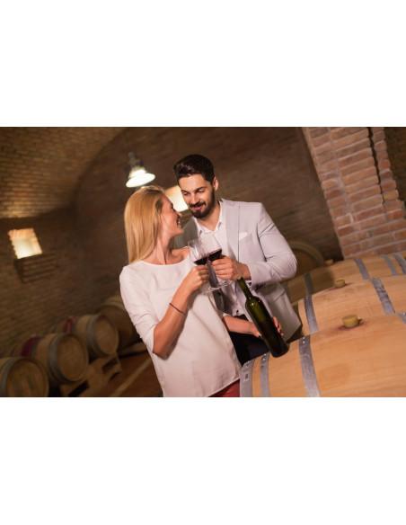 C'est aussi s'offrir une pause gastronomique avec service du vin dans les règles de l'art...