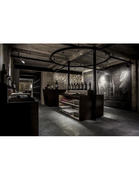 Cave à vin dans le Médoc