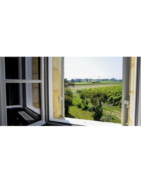La vue depuis votre chambre au Château