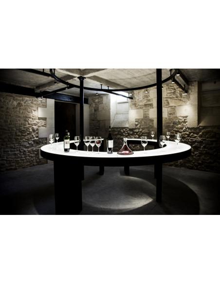 La salle de dégustation du Château