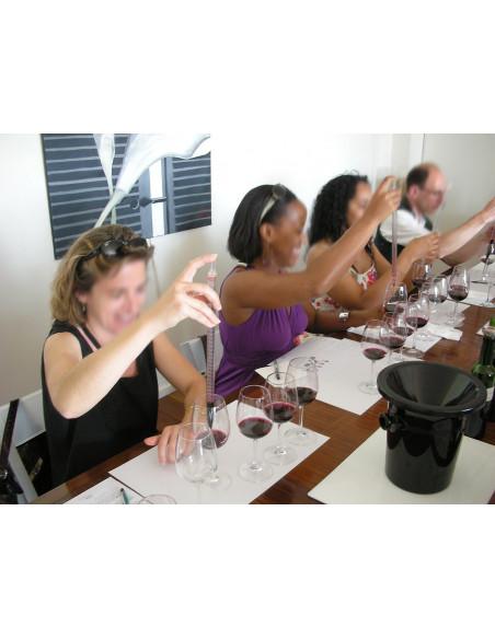 Atelier du vin, faire son vin lors d'un séminaire bordeaux