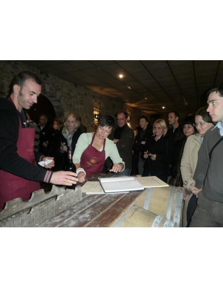 Journée incentive mise en bouteille vin