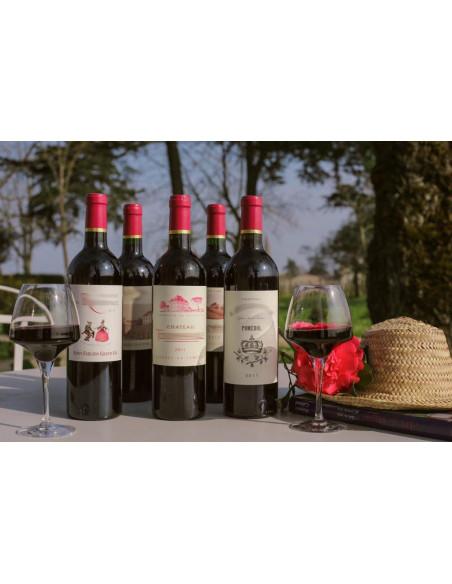 Degustation de vin bordeaux lors de votre garden party