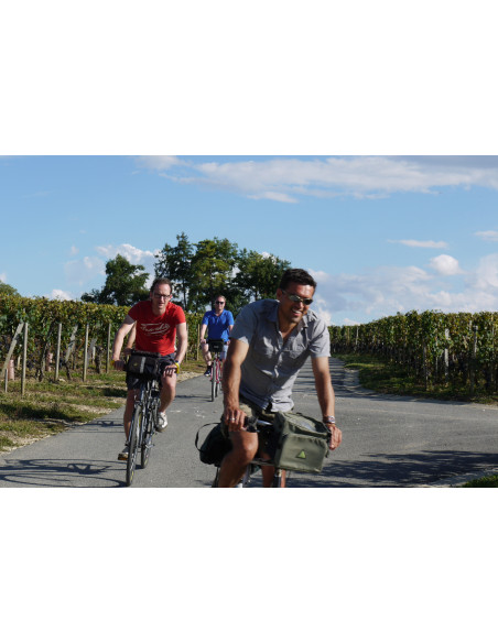 Rallye vélo voyage incentive route des vins bordeaux