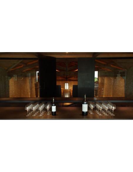 A la fin de la visite, dégustations de grands vins