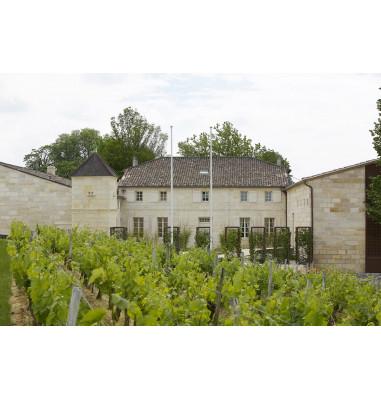 Le Château Grand Cru Classé de Saint-Emilion entouré de vignes où vous séjournez..
