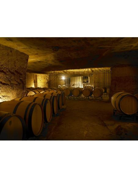 Visite de caves souterraines (rares en Bordelais) sont également au programme