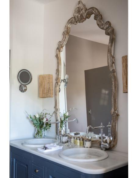 Une des salles de bain du Château