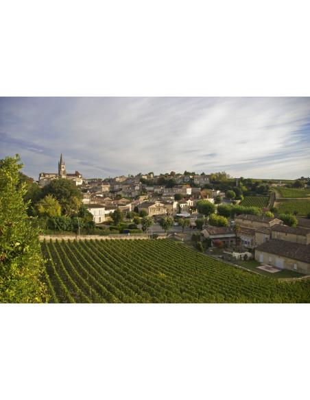 Saint-Emilion, un des vins les plus réputés