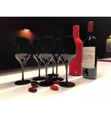 Votre atelier est prêt ! verres noirs, bouteille cachée !