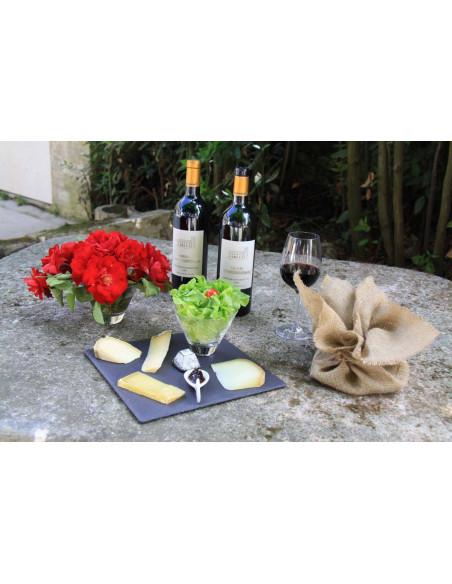 Grand Vin de Bordeaux et fromages, un mélange parfait...