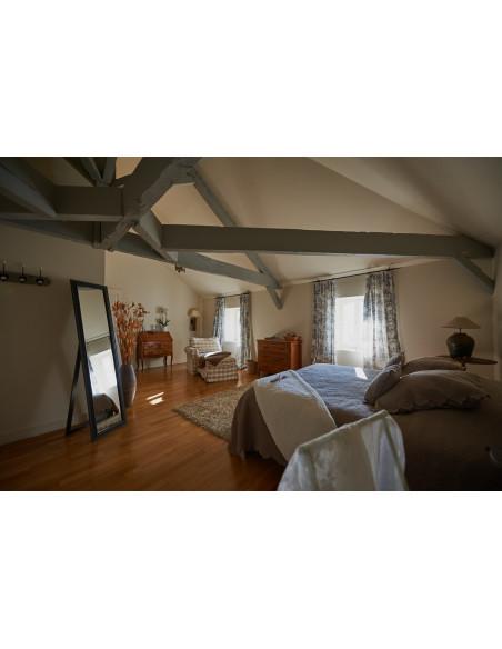 Une nuit en Château dans une chambre romantique est prévue dans votre programme