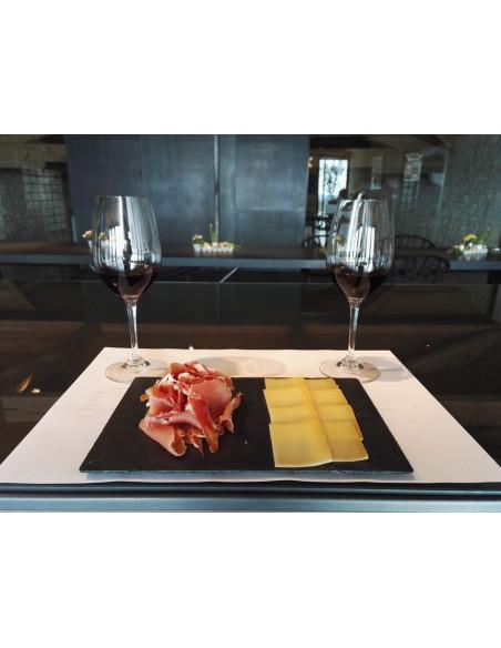 Comté & Pata Negra pour déguster les vins...