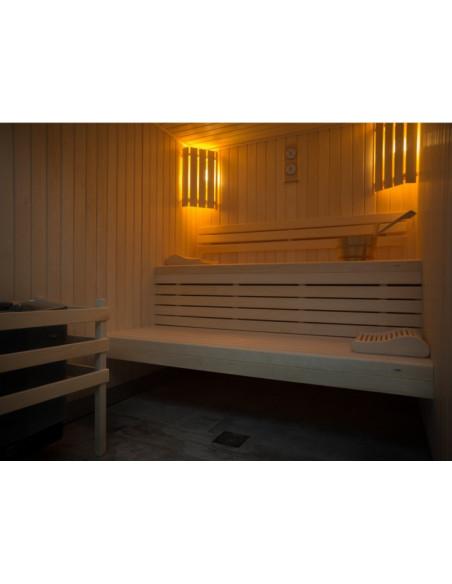 Le sauna du Château ouvert jusqu'à 22 heures