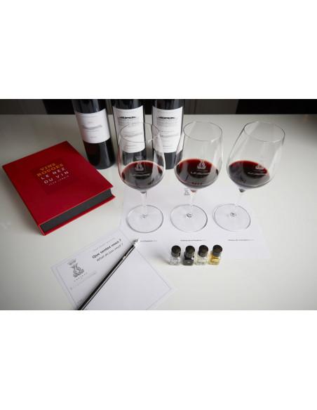 Dégustez des vins et apprenez les techniques de dégustation, on vous donnera des astuces...