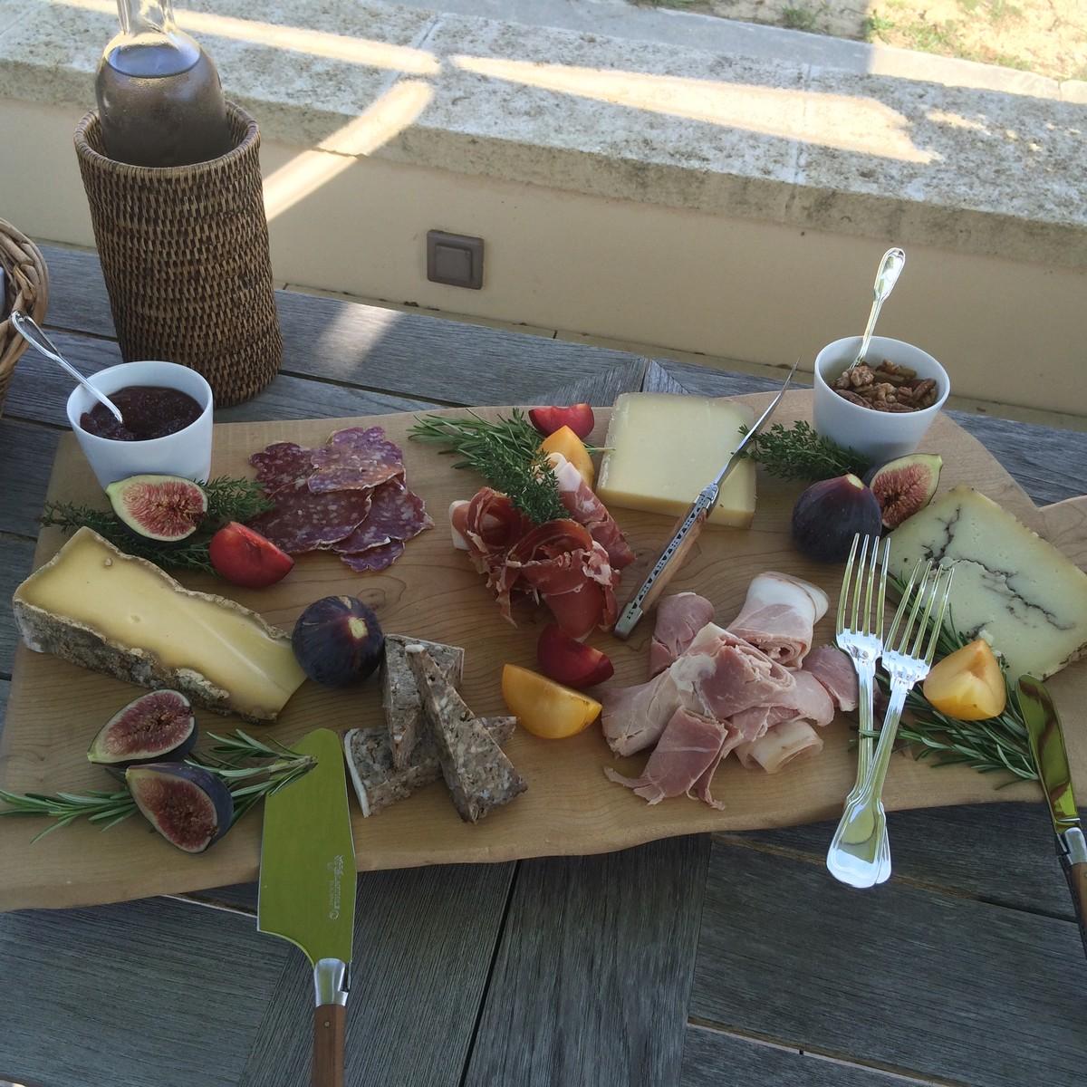 Ardoise fromages et vin atelier oenologie