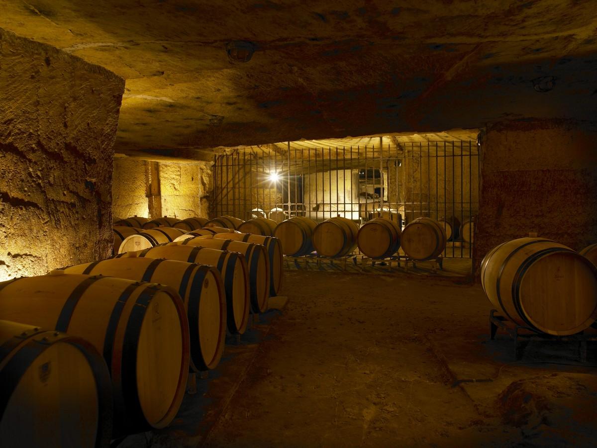 Caves souterraines du grand cru classé