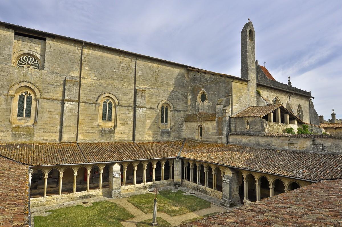 Beau monument médiéval de Saint-Emilion