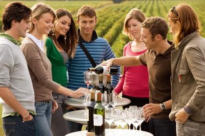 Dégustation de vin rouge vignoble Bordelais