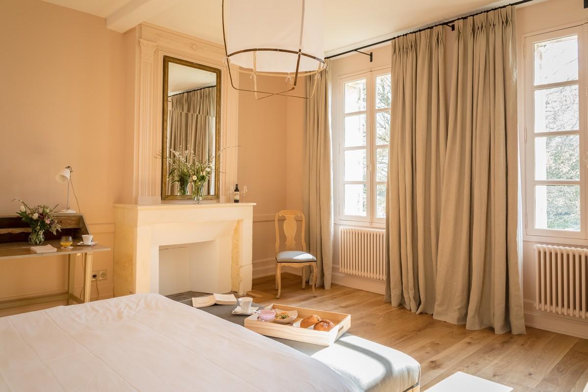 Chambre beige séjour haut de gamme Bordeaux