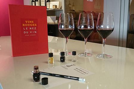 Assistez à un cours œnologie pour apprendre le vin de Bordeaux dans un Château du vignoble Bordelais. Visitez les caves du domaine viticole à Saint-Emilion.