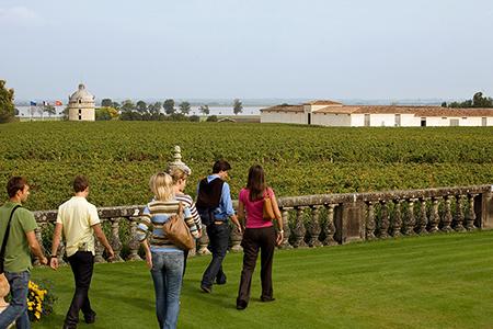 Participez à un Wine Tour dans le vignoble de Bordeaux avec visite de château sur une journée, dans un Saint-Emilion grand cru classé ou dans le Haut-Médoc.
