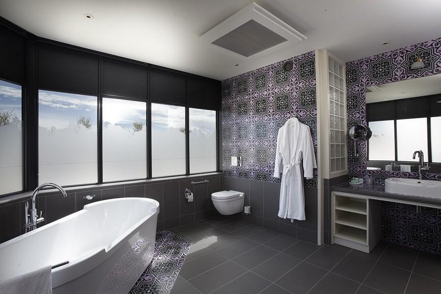 Sublime salle de bains week-end en amoureux