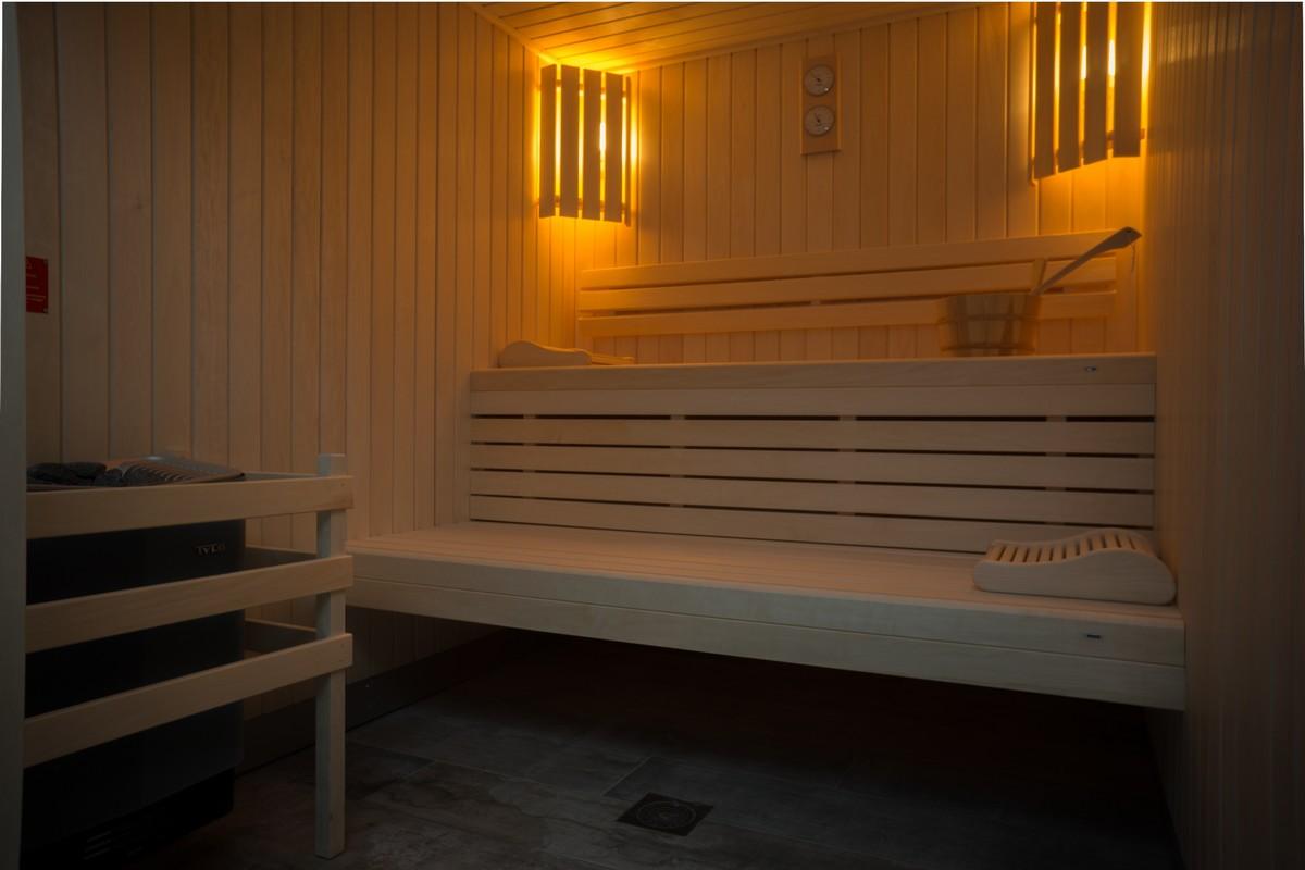 Vaste sauna au château de Saint-Emilion