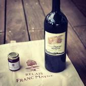 Merci à Jacques pour ce délicieux cadeau que j'ai reçu 🎁  #saintemilion #grandcruclasse #domaineviticole #oenotourisme #degustationdevin #vinrouge #délice #cadeau #remerciement